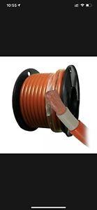 Welding Cable 70mm² 0 Gauge Solar Car Battery Weld Flex Australain Manufactured