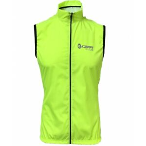 Cycling Gilet Fluorescent Shower Windproof Running Jacket Breathable