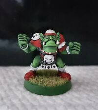 Warhammer GamesWorkshop Bloodbowl 2nd Edition Orc Lineman metal oop well painted