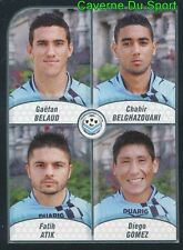 652 BELAUD BELGHAZOUANI ATIK DIEGO GOMEZ FC.TOURS STICKER FOOT 2009-2010 PANINI