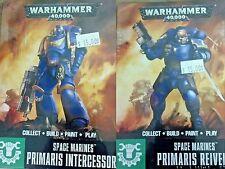 Warhammer 40000 Easy to Build 40K SPACE MARINES PRIMARIS REIVERS & INTERCESSORS