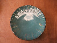 """Mikasa DAYMON JADE Dinner Plate 11 1/4"""" Green Embossed Dots  3 available"""