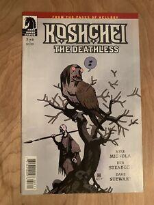 Koshchei The Deathless #3 2018 Dark horse Comics
