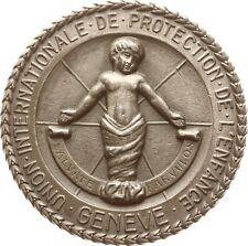 Genf, Silbermedaille, verl. an Clementina Velutini Herrera Uslar, Venezuela, RR!