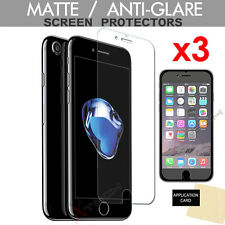 3 Pack of ANTI-GLARE MATTE Screen Protector Covers for Apple iPhone 8, iPhone 7