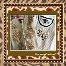 NWT, JCrew Embellished Cardigan & Shell Set (size:small)