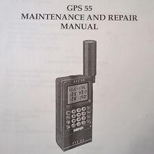 Garmin GPS 55 Maintenance Manual