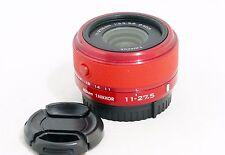 Nikon 1 NIKKOR red 11-27.5mm f/3.5-5.6 CX Lens j1 j2 j3 j4 j5 v1 v2 s1 s2