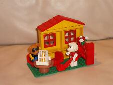 Lego FABULAND Paula caniches con amigo en su sala de estar nr 36.. de 1984