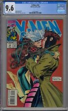 X-MEN #24 CGC 9.6 ANDY KUBERT COVER GAMBIT ROGUE KISS