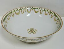 Havilland Limoges China CHRISTMAS HOLLY BERRY Vegetable Bowl