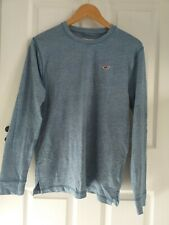Mens HOLLISTER blue Long Sleeve Top Size S