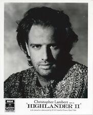 Highlander 2 Christopher Lambert Original Vintage 8x10 Photo