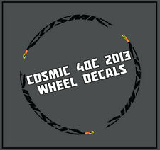 Cosmic Cxr 40 C style wheelrim decals 700 C parts Mavic AUTOCOLLANTS pour 2 roues