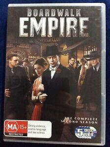 Boardwalk Empire : Season 2 DVD Set - Region 4 - Great Condition - FREE POST