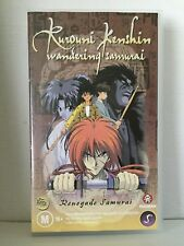 Rurouni Kenshin Renegade Samurai Anime Vol 5 & PAL VHS Video