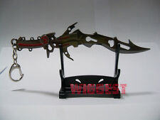Final Fantasy XIII FF13 Lightning Gun Blade Sword Weapon Key Chain Gift