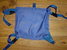 HEAVY DUTY SEA KAYAK MESH DECK BAG ( BLUE or BLACK )