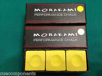 Morakami Chalk BLONDE Pool Cue Chalk 3 Pieces - Performance Chalk - $ave!