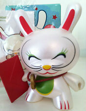 "DUNNY 3"" SERIES 4 SHANE JESSUP LUCKY CAT CLOSED EYES 3/96 KIDROBOT 2007 VINYL"