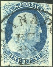 #9 USED WITH TOWN & DATE CANCEL VF-XF POS40L1L BN9172