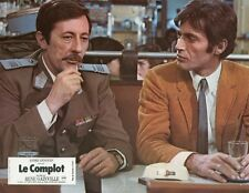 GABRIELE TINTI  JEAN ROCHEFORT LE COMPLOT 1973 PHOTO D'EXPLOITATION #3