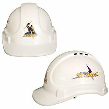 Melbourne Storm NRL Light Weight Vented Safety Hard Hat Work Man Cave Tradie