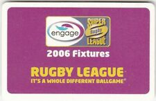 Engage Rugby Super League 2006 Fixture List