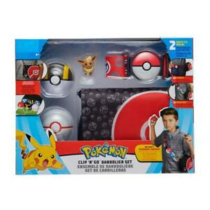Pokemon - Bandolier Set - Eevee #1, Ultra Ball, Premier Ball, Belt, Bag - Wave 1