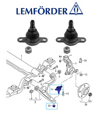 PAIR OEM VW TRANSPORTER T5 T6 / Front Axle L+R Van Lower Ball Joints LEMFÖRDER