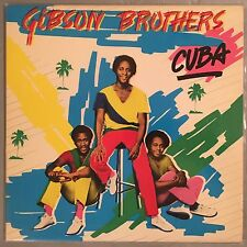GIBSON BROTHERS - Cuba (Vinyl LP) 1979 Island ILPS 9579