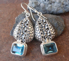Topaz Stone Sterling Silver Handcrafted Jewellery
