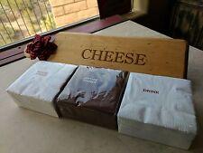 NEW JK Adams Maple Cheese Board Set