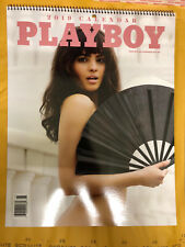 PLAYBOY PLAYMATE 2019 CALENDAR-PLASTIC SEALED-NEW-MINT CONDITION-NEWSSTAND ITEM