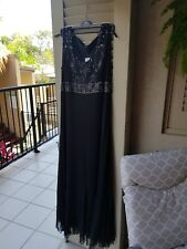 Kivalin Made In Australia Black Ladies Dress NWT