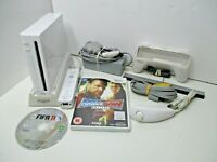 Nintendo Wii Console Bundle With 2 Games Good Condition + Cooling system -Tested