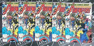 Avengers #211 5 Copies Marvel Comics (1981) Moon Knight Black Panther Hawkeye