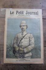 Petit journal dibujada nº106 1892 - Dahomey General Dodds - Cremación Dahomeans