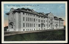 Postcard DURHAM NC  Trinity College Jarvis Hall 1920's?