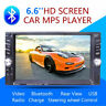 "6,6"" 2DIN Autoradio TouchScreen Bluetooth mit USB/AUX/AM/FM/MP5 Player Stereo DE"
