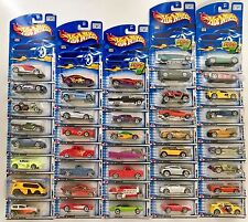 Hot Wheels 2002 First Editions Set 1:64 Scale (Complete 42 vehicle set)