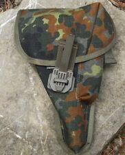 Bundeswehr BW Pistolenholster P1 Flecktarn  Magazintasche Holster Pistolentasche
