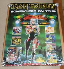 Iron Maiden Somewhere on Tour Poster Original 1988 Promo 36x48 HUGE RARE