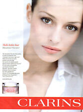 Publicité Advertising 2011  //    CLARINS  Multi-active jour