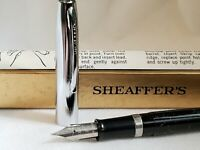 Vintage Sheaffers Fountain Pen Advertising-New/Old Stock-Orig Box