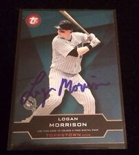 LOGAN MORRISON 2011 TOPPS TOWN Autographed Signed AUTO Baseball Card TT2-4