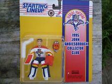 "Kenner 1995 John Vanbiesbrouck Collector Club 4"" Starting Lineup NHL - Panthers"