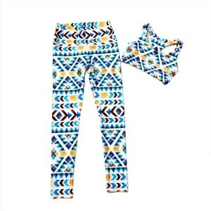Pineapple Clothing Workout Set Ethno Chic print