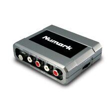 Numark Stereo iO Analog-To-Digital DJ Audio Interface Sound Card Inc Warranty