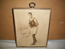 GENE TUNNEY - INSCRIBED PHOTOGRAPH SIGNED - HEAVYWEIGHT BOXING CHAMP